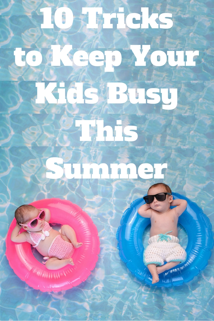 Want to know how to keep your kids busy this summer? Here are 10 ways to keep your kids entertained.