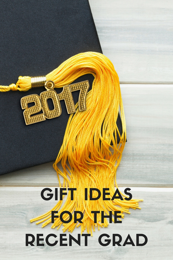 Graduation gift ideas for the recent grad from high school or college.