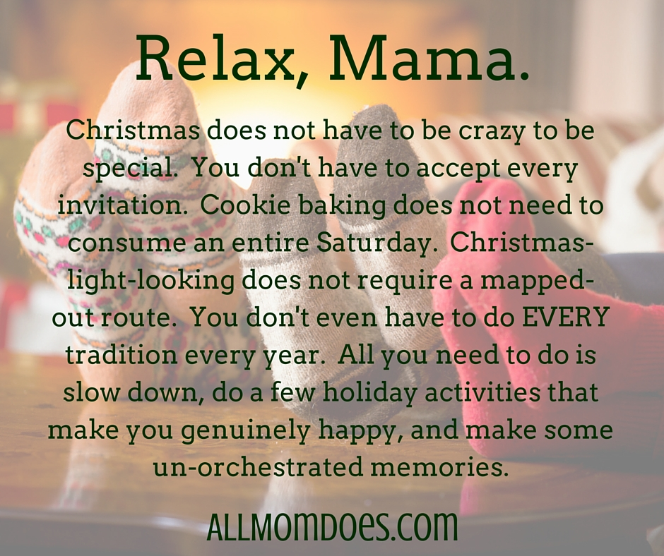 Thursday\'s Mom Encouragement: The Real Magic of Christmas | AllMomDoes