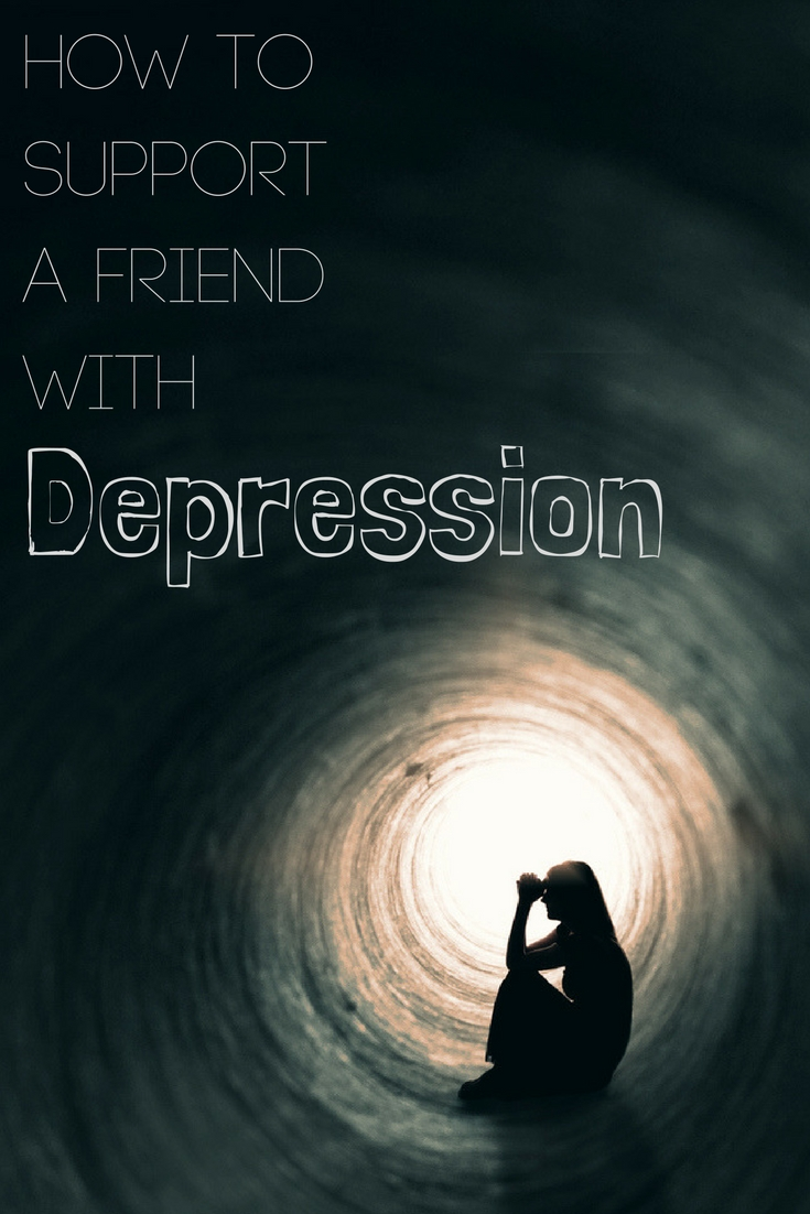 How to support a friend with depression. A great tip to help.